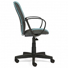 Кресло компьютерное Spectrum серый/голубой