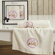 Набор полотенец для ванной Karna Набор из 2 полотенец для ванной MANGOLIA