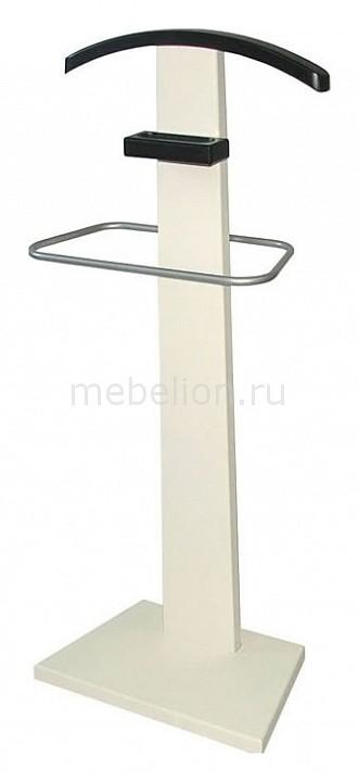 Вешалка для костюма Мебелик Галант 322 слоновая кость/венге