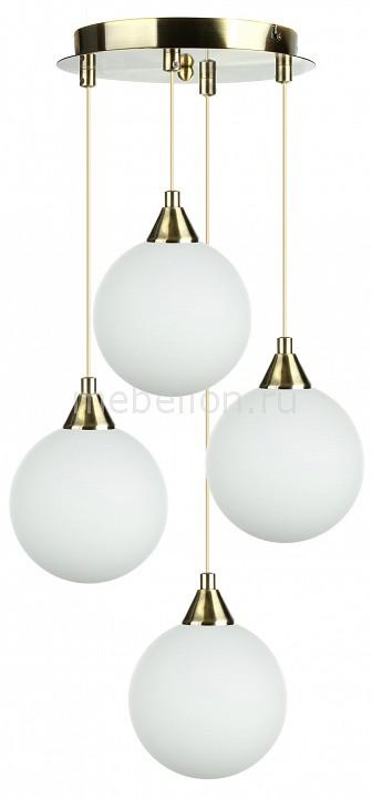 Подвесной светильник 33 идеи PND.101.04.01.AB+S.01.WH(4)