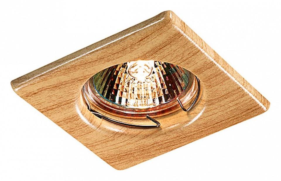 Купить Встраиваемый светильник Wood 369716, Novotech, Венгрия
