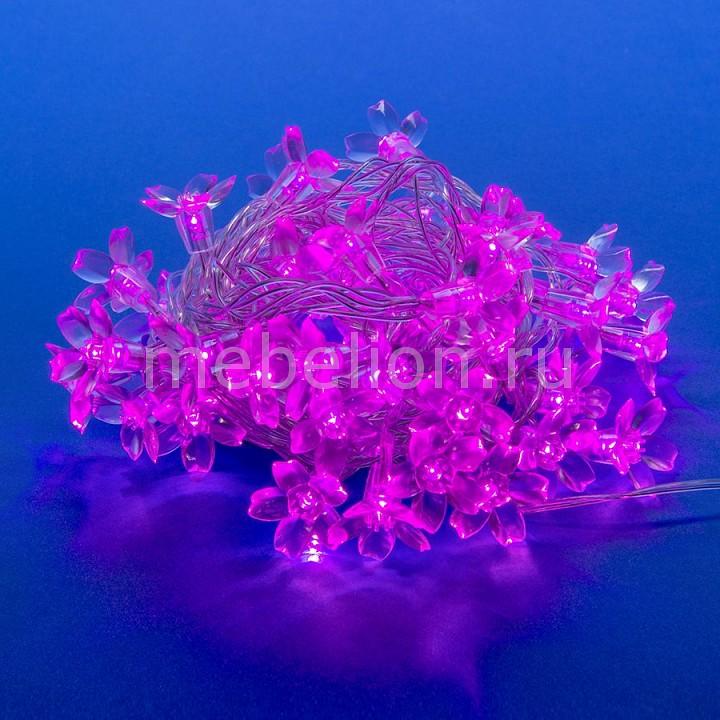Гирлянда с насадками (7 м) Uniel 7933 Сакура розовая
