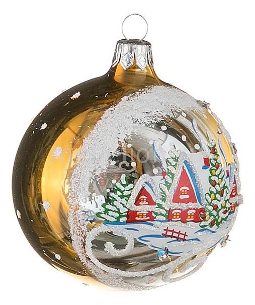 Елочный шар (7 см) Зимний 860-410