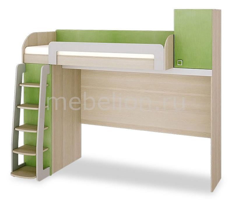 Кровать Мебель Трия -чердак Киви ПМ-139.01 ясень коимбра/панареа