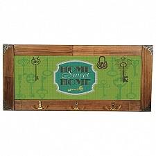 Настенная вешалка Акита (52х23 см) Home sweet home 314-1