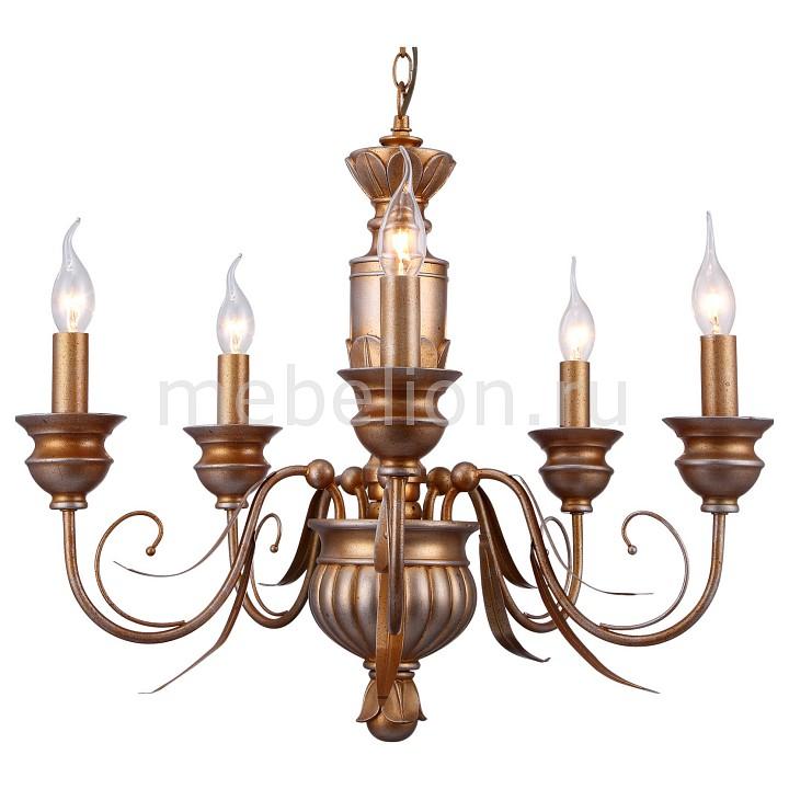 Подвесная люстра Arte Lamp A9075LM-5GA Doratura