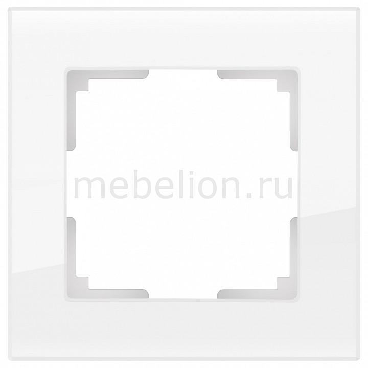 Рамка на 1 пост Werkel Favorit WL01-Frame-01 рамка favorit на 1 пост бронзовый wl01 frame 01 werkel 1209837