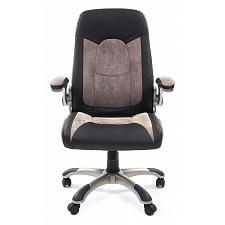 Кресло для руководителя Chairman 439 серый, черный/серый, черный