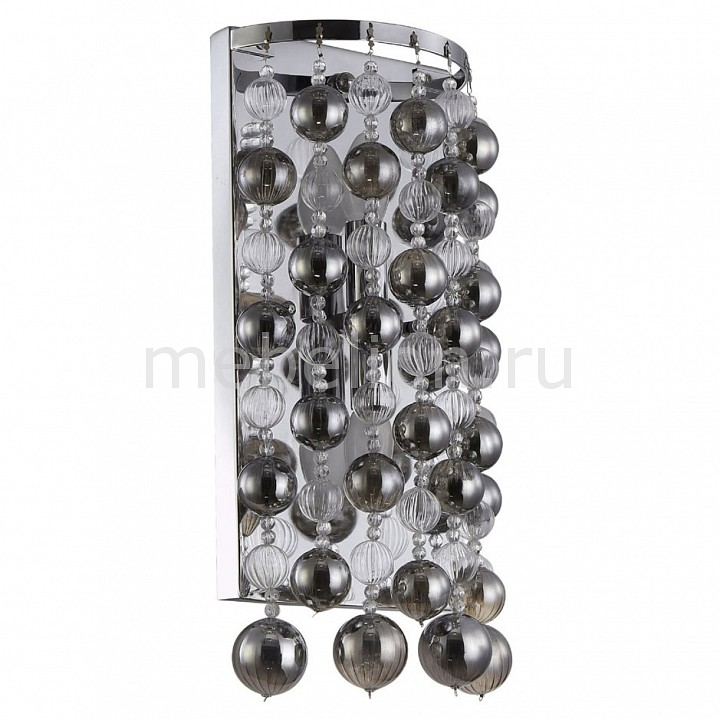 Накладной светильник Crystal Lux MALLORCA AP2 CHROME/SMOKE накладной светильник crystal lux mallorca ap2 chrome smoke