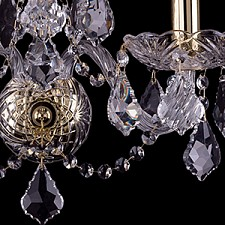 Бра Bohemia Ivele Crystal 1400/3/165/G/Leafs 1400