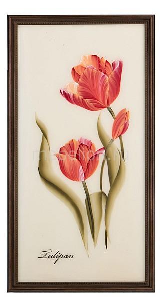 Панно АРТИ-М (25х50 см) Цветы 354-765 статуэтка арти м 37 см дама 50 029