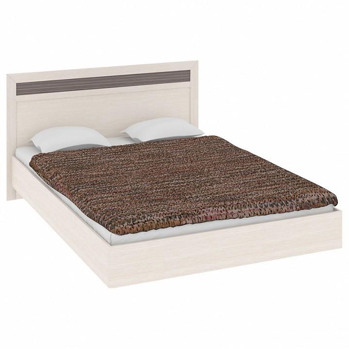 Кровать двуспальная Токио СМ-131.12.001 дуб белфорт/дуб белфорт/каналы дуба