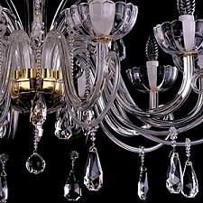 Подвесная люстра Bohemia Ivele Crystal 1333/10/380/G 1333