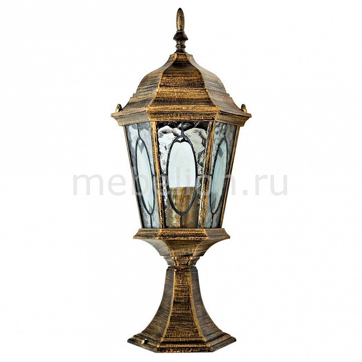 Наземный низкий светильник Feron 11330 Витраж с овалом