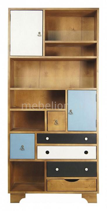 Стеллаж комбинированный Этажерка Aquarelle Birch кровать etagerca aquarelle birch re 160etg
