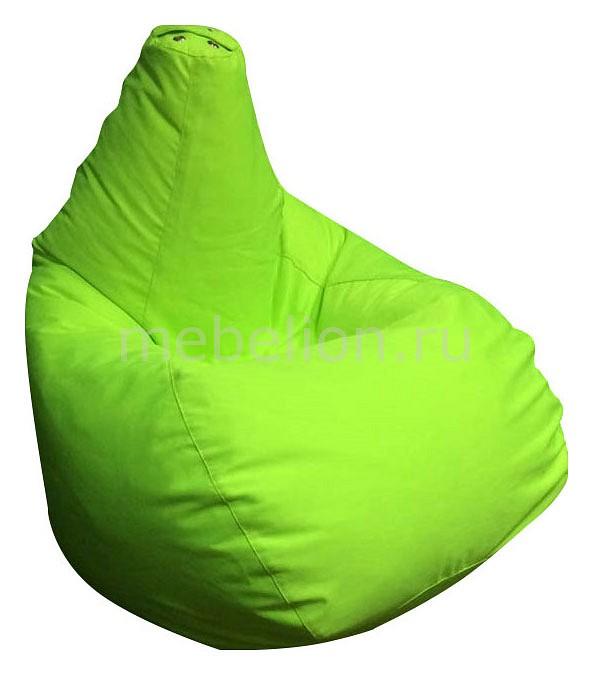 Кресло-мешок Фьюжн салатовое I  низкие пуфики