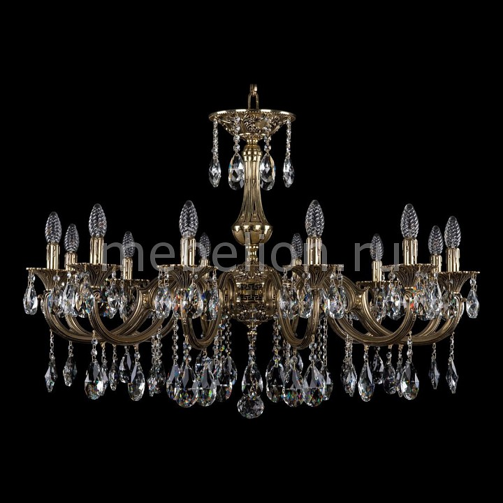Подвесная люстра Bohemia Ivele Crystal 1702/12/335/A/GB 1702