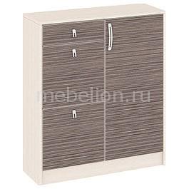 Мебель Трия Тумба для обуви Нова ПМ-156.12 дуб белфорт/каналы дуба