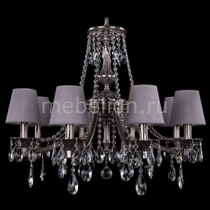 все цены на Подвесная люстра Bohemia Ivele Crystal 1771/8/220/A/NB/SH24 онлайн