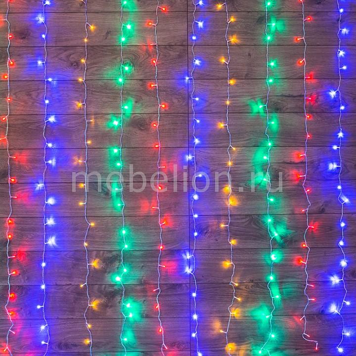 Занавес световой Neon-Night (1.5x1 м) Home 235-029 tiffany mediterranean style peacock natural shell ceiling lights lustres night light led lamp floor bar home lighting