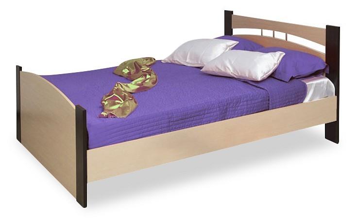 Купить Кровать полутораспальная Олимп 1200, Олимп-мебель, Россия