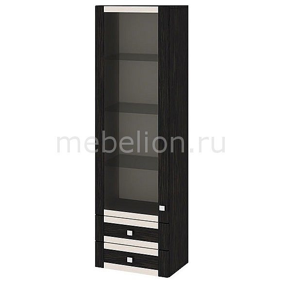 Шкаф-витрина Фиджи ШН2я(12)_32-19_18 венге цаво/дуб белфорт mebelion.ru 7990.000