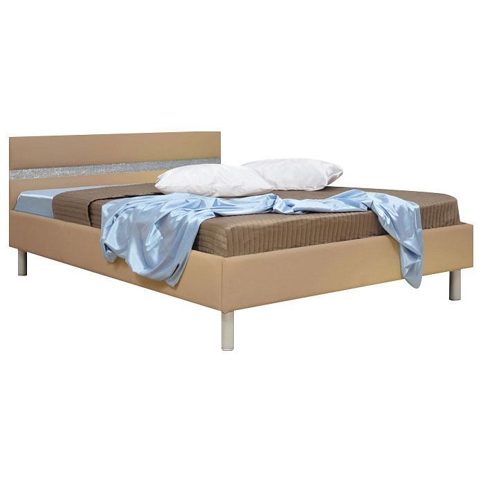 Кровать полутораспальная Олимп-мебель Плаза 1400