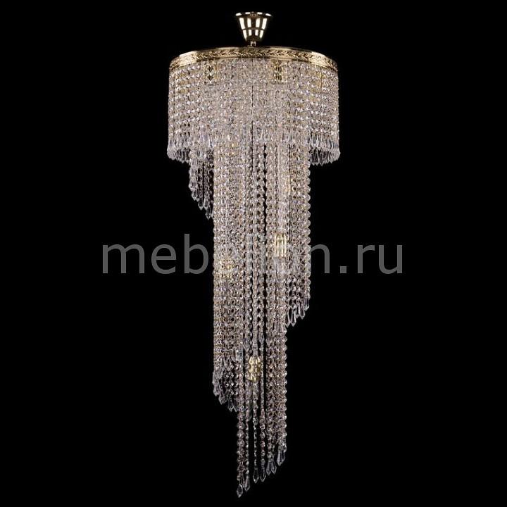 Люстра на штанге Bohemia Ivele Crystal 8311/40-100/G 8311