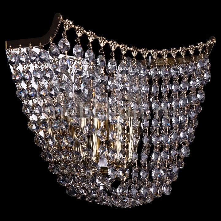 Накладной светильник Bohemia Ivele Crystal 7708/3W/G накладной светильник 7708 3w g