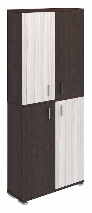 Шкаф книжный Домино ПУ-30-3