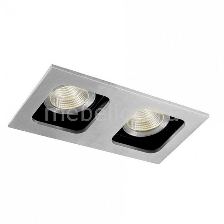 Встраиваемый светильник Donolux DL18614/02WW-SQ Alu/Black светильник donolux sa1541 sa1543 alu