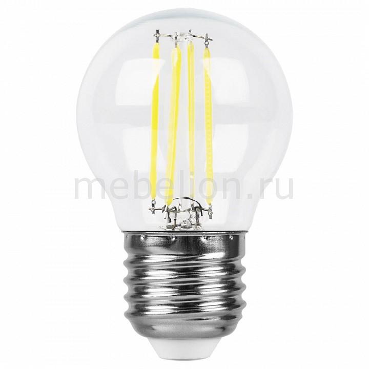 Лампа светодиодная [поставляется по 10 штук] Feron Лампа светодиодная E27 220В 5Вт 2700 K LB-61 25581 [поставляется по 10 штук] лампа светодиодная feron sbg4509 e27 9вт 220в 2700 k 55082