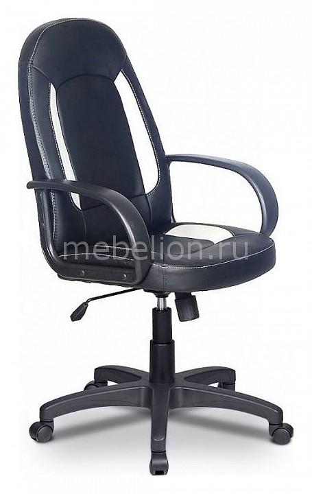 Кресло компьютерное Бюрократ Бюрократ CH-826/B+WH компьютерное кресло бюрократ ch 826 black white