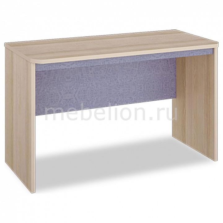Стол офисный Мебель Трия Индиго ПМ-145.04 ясень коимбра/навигатор шкаф платяной угловой мебель трия шкаф платяной индиго пм 145 12 ясень коимбра навигатор