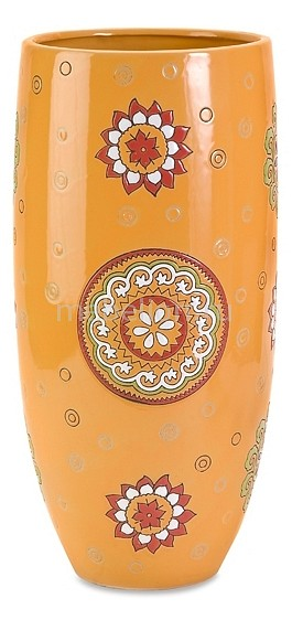 Купить Ваза настольная (46 см) I love MY Home 87505, Home-Philosophy, Россия, оранжевый, керамика