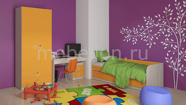 Гарнитур для детской Мебель Трия Аватар ГН-201.007 мебель трия полка навесная аватар тд 201 08 каттхилтtri 55034tri 55034