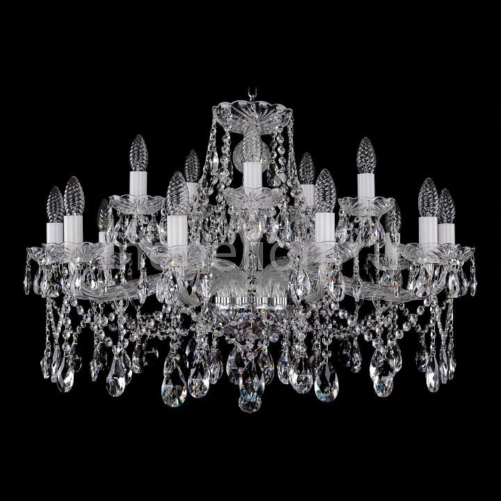 Подвесная люстра Bohemia Ivele Crystal 1413/10_5/300/Ni 1413