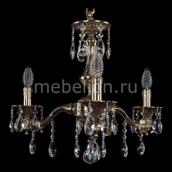 Подвесная люстра Bohemia Ivele Crystal 1710/3/160/A/GB подвесная люстра bohemia 1710 1710 3 160 c gb
