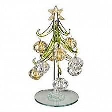 Ель новогодняя с елочными шарами (15 см) ART 594-100