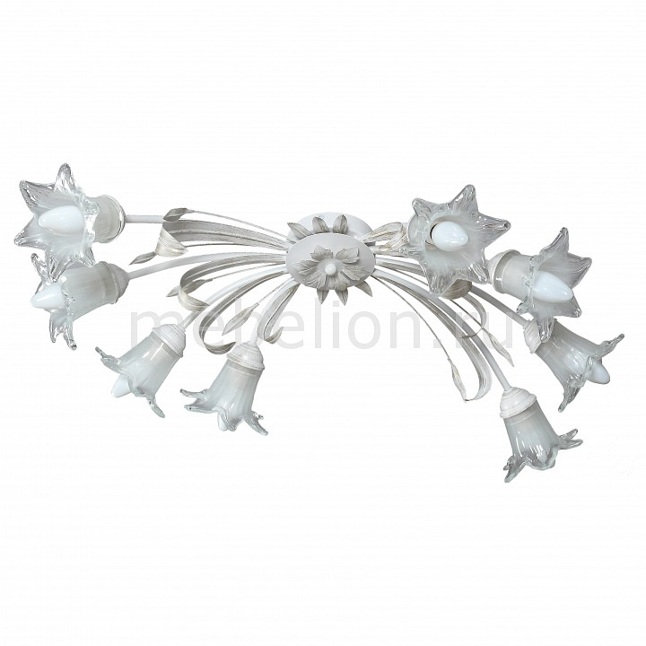 Потолочная люстра Аврора 10040-8C Ирис