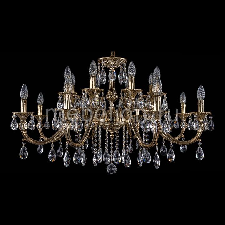 Подвесная люстра Bohemia Ivele Crystal 1703/16/360/A/GB 1703