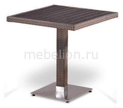 Стол обеденный Afina T502DG-W1289-70х70 Pale набор уличный afina t502dg y350g w1289 pale 2pcs