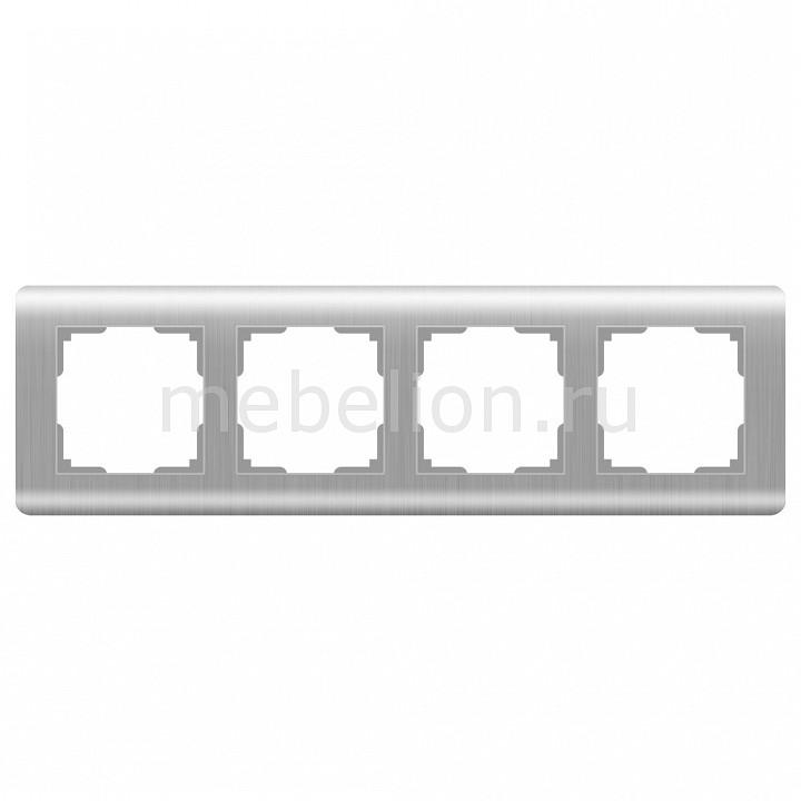 Рамка на 4 поста Werkel Stream WL12-Frame-04 цена