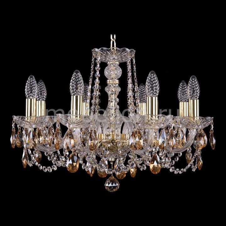 Подвесная люстра Bohemia Ivele Crystal 1402/8/195/G/721 1402