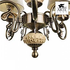 Подвесная люстра Arte Lamp A9070LM-5AB Ivory
