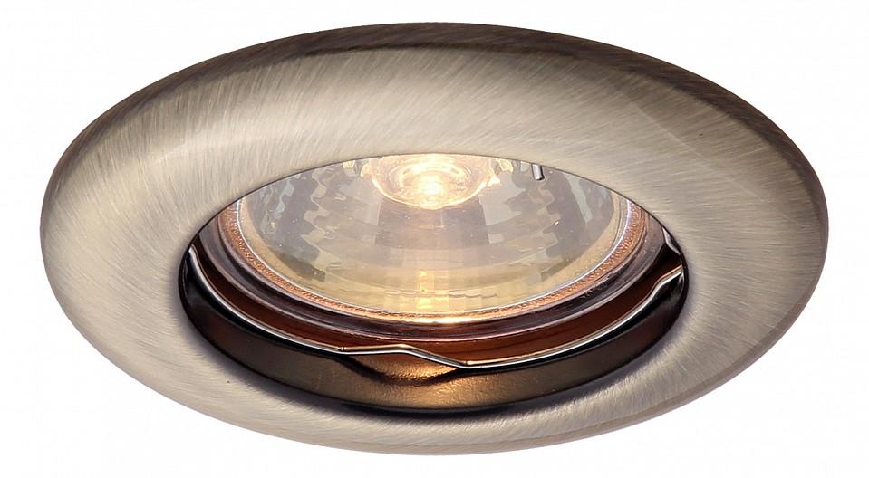 Встраиваемый светильник Arte Lamp A1203PL-1AB Praktisch