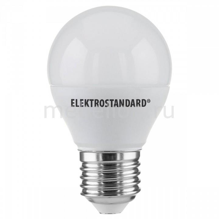 Лампы светодиодная Elektrostandard Mini Classic LED 7W 6500K E27 матовое стекло tohda thd 007 7w 500lm 6500k 7 led white ceiling light 110 240v