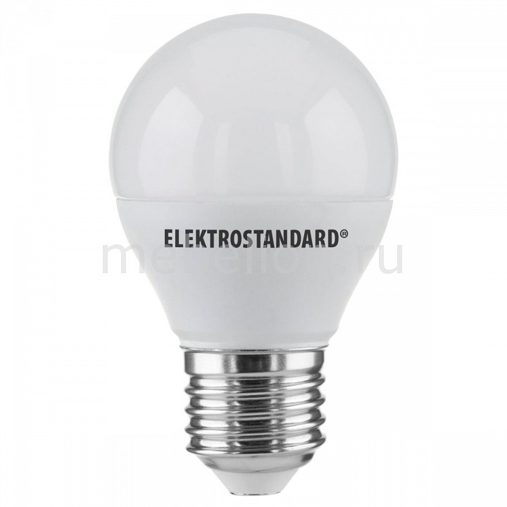 Лампы светодиодная Elektrostandard Mini Classic LED 7W 6500K E27 матовое стекло 1w 90 lumen 6500k white led ceiling lamp down light with led driver ac 85 245v