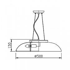Подвесной светильник Maytoni CL814-06-N Differentos