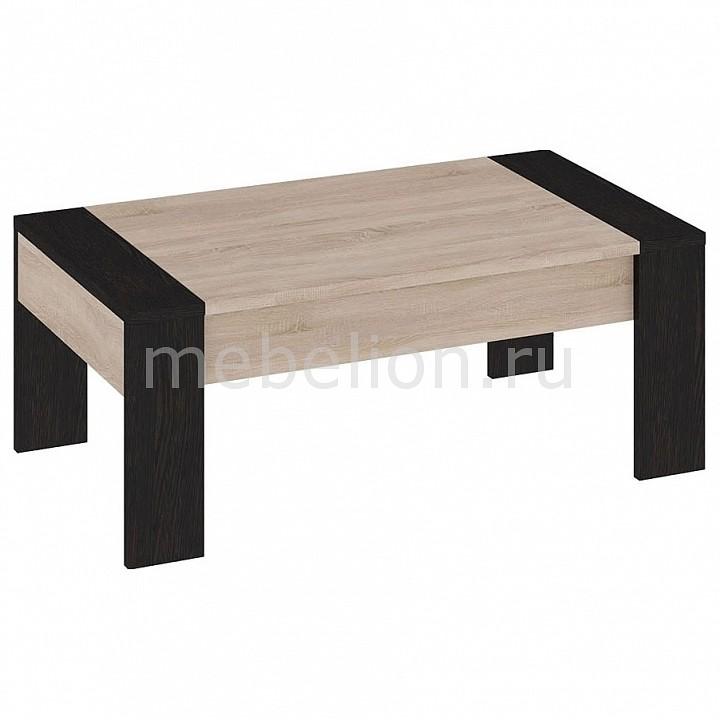 Мебель Трия Стол журнальный Мики ПМ-155.21 дуб сонома/венге цаво тумбочка мебель трия прикроватная токио пм 131 03 см дуб белфорт венге цаво